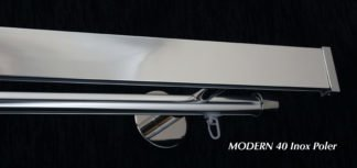 Hliníkové kolejničky Modern