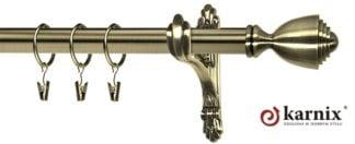 Kovové garnýže Barokko 25mm