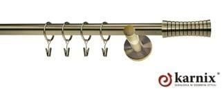 Garnýže Neo 19 mm anticka zlata