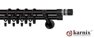 Garnýže NEO 25/19mm černá Lanco Cristal