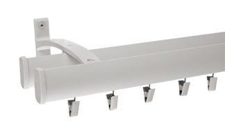 jednoduchá kolejnicová stropní garnýž
